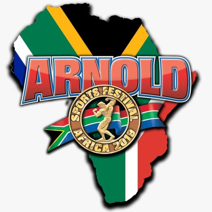 Ukrainian Pro-troops at the Arnold Classic South Africa 2019