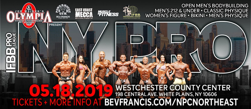 New sponsor new York About 2019 AMI talk about the changes on the Mr Olympia