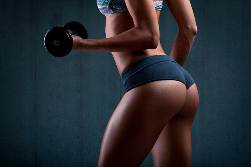 Fitness for beautiful buttocks: exercise and nutrition