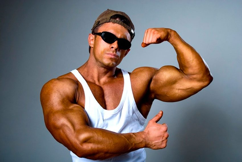How to build muscle at home – Eat together!