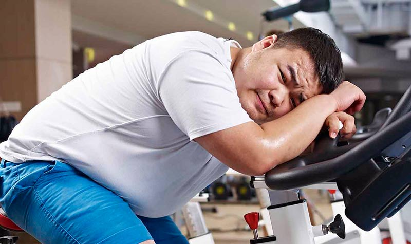 lose weight in the gym