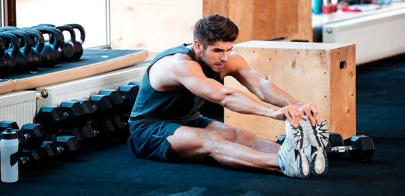stretch after pushups