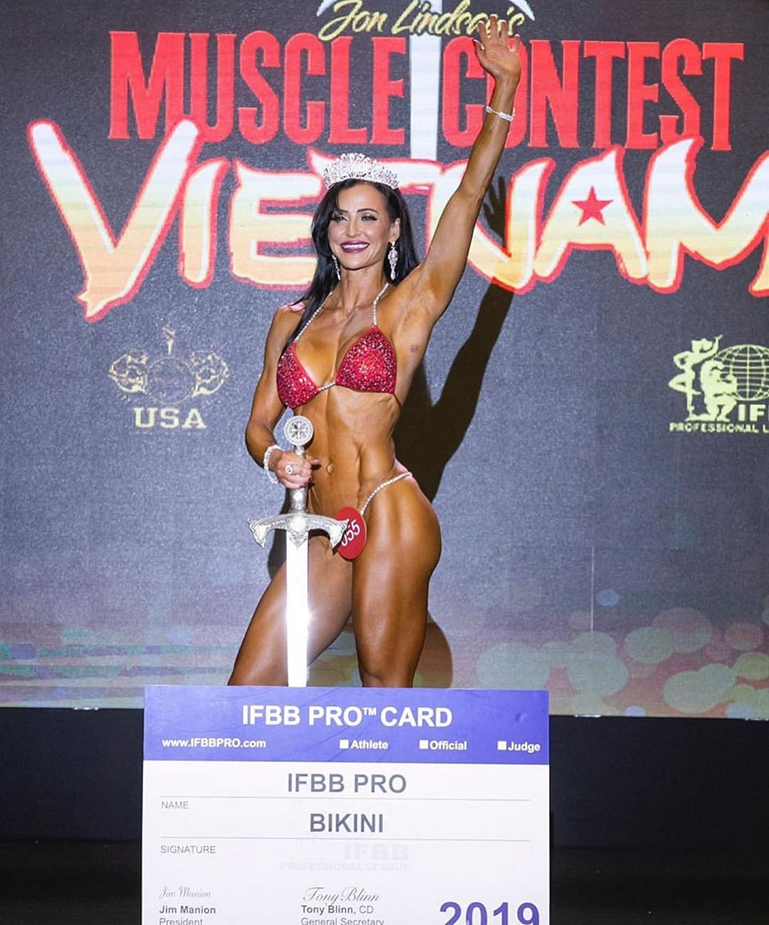 Musclecontest Vietnam Pro Qualifier-2019