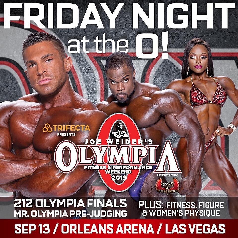 Schedule Mr. Olympia 2019