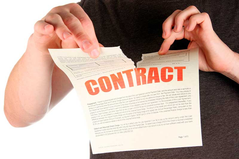termination of an agreement