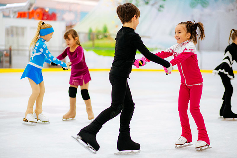 figure skating training