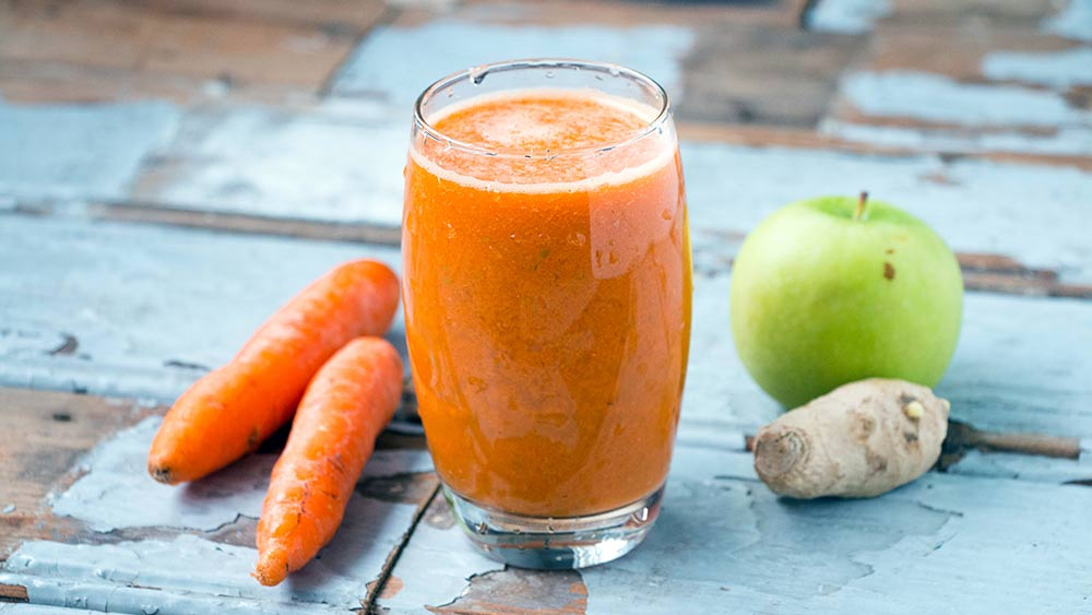Carrot & Apple Smoothie