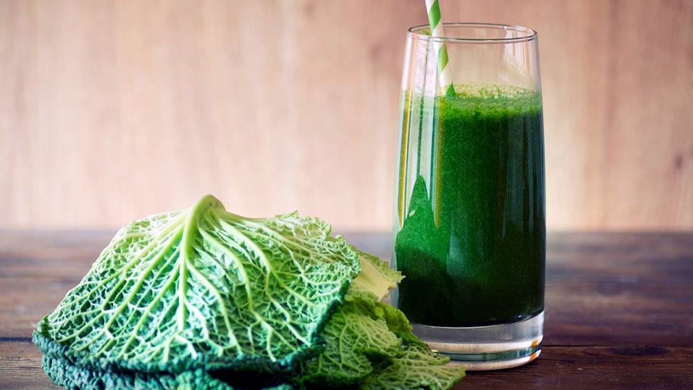 cabbage smoothie