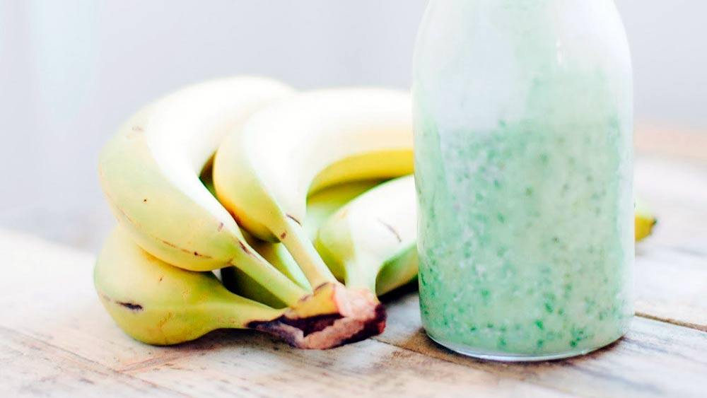 banana cabbage smoothie