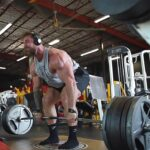 Mr. Olympia Chris Bumstead Builds Mass With 245kg Deadlift